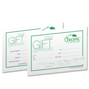 Tropic Gift Voucher